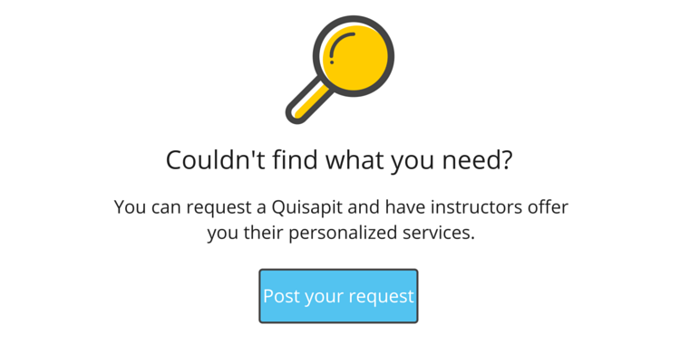 request a Quisapit